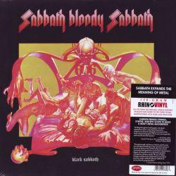 BLACK SABBATH - SABBATH BLOODY SABBATH (1LP) - RHINO VINYL EDITION - 180 GRAM PRESSING