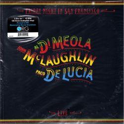 MEOLA, AL DI / McLAUGHLIN, JOHN / DE LUCIA, PACO - FRIDAY NIGHT IN SAN FRANCISCO (2LP) - WYDANIE AMERYKAŃSKIE - 45RPM