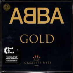 ABBA - GOLD -GREATEST HITS (2LP) - 40TH ANNIVERSARY EDITION -180 GRAM PRESSING