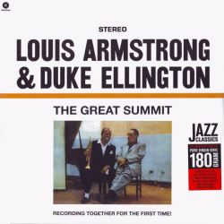 ARMSTRONG, LOUIS & ELLINGTON, DUKE - THE GREAT SUMMIT: RECORDING TOGETHER FOR THE FIRST TIME! (1LP) - 180 GRAM PRESSING