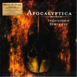 APOCALYPTICA - INQUISITION SYMPHONY (1LP) - LIMITED NUMBERED 180 GRAM YELLOW WINYL PRESSING
