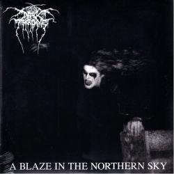 DARK THRONE - A BLAZE IN THE NORTHERN SKY (1LP) - 180 GRAM PRESSING