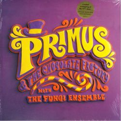 PRIMUS & THE CHOCOLATE FACTORY WITH THE FUNGI ENSEMBLE (1 LP) - CHOCOLATE BROWN VINYL - WYDANIE USA