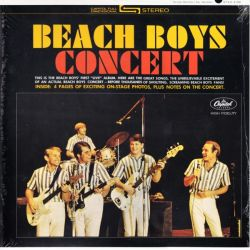 BEACH BOYS, THE - CONCERT (1LP) - 180 GRAM PRESSING - WYDANIE AMERYKAŃSKIE