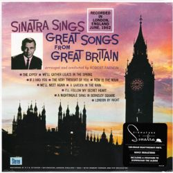 SINATRA, FRANK - GREATEST SONGS FROM GREAT BRITAIN (1LP+MP3 DOWNLOAD) - 180 GRAM PRESSING