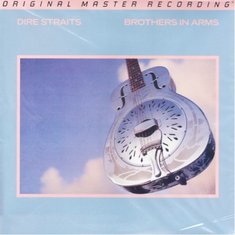 DIRE STRAITS - BROTHERS IN ARMS (2LP) - MFSL 45RPM LIMITED NUMBERED EDITION - 180 GRAM PRESSING - WYDANIE AMERYKAŃSKIE