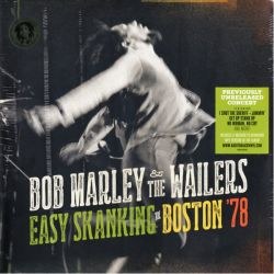 MARLEY, BOB & THE WAILERS - EASY SKANKING IN BOSTON '78 (2 LP + MP3 DOWNLOAD) - 180 GRAM PRESSING