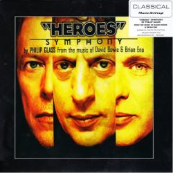 HEROES - PHILIP GLASS / DAVID BOWIE & BRIAN ENO (1LP) - MOV EDITION - 180 GRAM PRESSING
