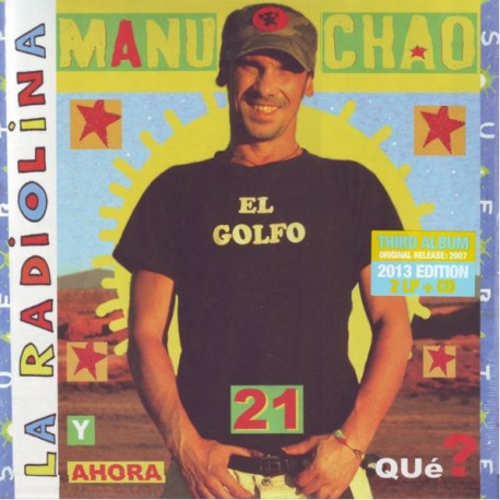 MANU CHAO - LA RADIOLINA (2LP+CD)