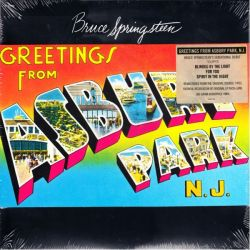 SPRINGSTEEN, BRUCE - GREETINGS FROM ASBURY PARK, N.J. (1LP) - 180 GRAM PRESSING