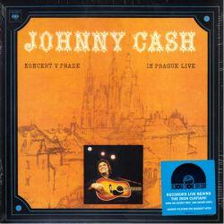 CASH, JOHNNY - KONCERT V PRAZE / IN PRAGUE LIVE (1LP) - RSD EDITION - LIMITED ON SOVIET RED - 180 GRAM PRESSING