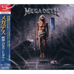 MEGADETH - COUNTDOWN TO EXTINCTION (1SHM-CD) - WYDANIE JAPOŃSKIE