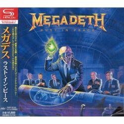 MEGADETH - RUST IN PEACE (1SHM-CD) - WYDANIE JAPOŃSKIE