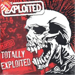 EXPLOITED, THE - TOTALLY EXPLOITED (2 LP) - LIMITED EDITION COLOURED VINYL PRESSING