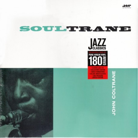 COLTRANE, JOHN WITH RED GARLAND - SOULTRANE (1LP) - 180 GRAM PRESSING