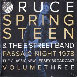 SPRINGSTEEN, BRUCE - PASSAIC NIGHT, NEW JERSEY 1978 - VOL.3 (2LP) - LIMITED GREY VINYL PRESSING
