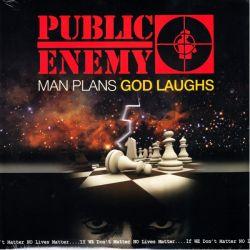 PUBLIC ENEMY - MAN PLANS GOD LAUGHS (1LP) - WYDANIE AMERYKAŃSKIE