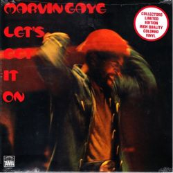 GAYE, MARVIN - LET'S GET IT ON (1 LP) - LIMITED COLOURED VINYL PRESSING