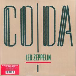 LED ZEPPELIN - CODA (1LP) - 2015 REMASTERED EDITION - 180 GRAM PRESSING