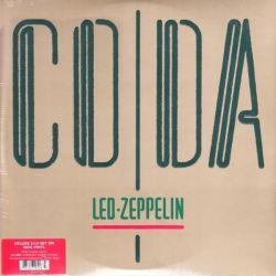 LED ZEPPELIN - CODA + COMPANION AUDIO (3LP) - 2015 REMASTERED DELUXE EDITION - 180 GRAM PRESSING