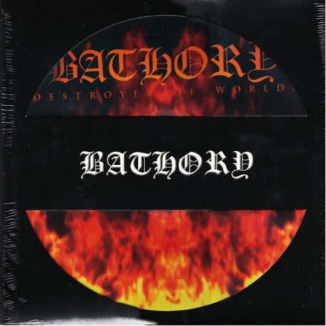 BATHORY - DESTROYER OF WORLDS (1LP) - PICTURE DISC