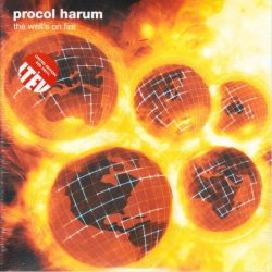 PROCOL HARUM - THE WELL'S ON FIRE (2LP) - LIMITED EDITION RED VINYL