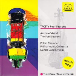 VIVALDI, ANTONIO - THE FOUR SEASONS - POLISH CHAMBER PILCHARMONIC ORCHESTRA / DANIEL GAEDE (1LP) - 180 GRAM PRESSING /TACET/