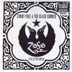 PAGE, JIMMY & THE BLACK CROWES - LIVE AT THE GREEK (3 LP) - WHITE VINYL - WYDANIE AMERYKAŃSKIE