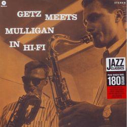 GETZ, STAN AND MULLIGAN, GERRY - GETZ MEETS MULLIGAN IN HI FI (1 LP) - WAX TIME EDITION - 180 GRAM PRESSING