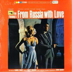 JAMES BOND: FROM RUSSIA WITH LOVE [POZDROWIENIA Z ROSJI] (1 LP) - JOHN BARRY - 2015 - WYDANIE AMERYKAŃSKIE