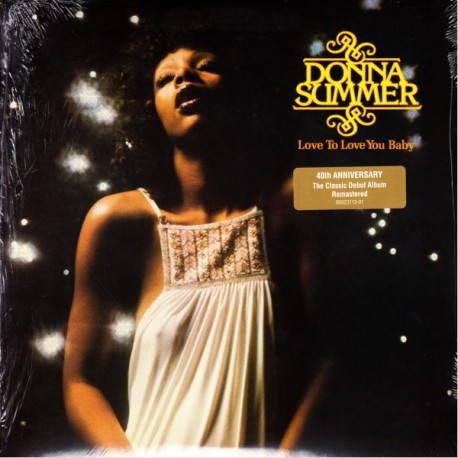 SUMMER, DONNA - LOVE TO LOVE YOU: 40TH ANNIVERSARY EDITION (1LP) - WYDANIE AMERYKAŃSKIE