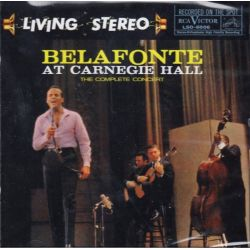 BELAFONTE, HARRY - AT CARNEGIE HALL: THE COMPLETE CONCERT (SACD+CD) - ANALOGUE PRODUCTIONS - WYDANIE AMERYKAŃSKIE