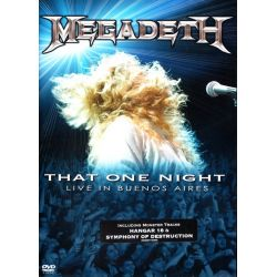 MEGADETH - THAT ONE NIGHT LIVE IN BUENOS AIRES (1 DVD)