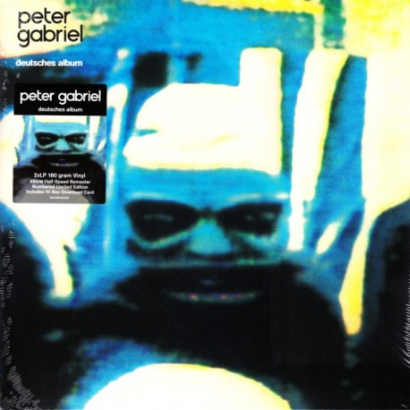 GABRIEL, PETER - IV: SECURITY DEUTSCHES ALBUM (2LP+MP3 DOWNLOAD) - 45RPM LIMITED NUMBERED EDITION - 180 GRAM PRESSING