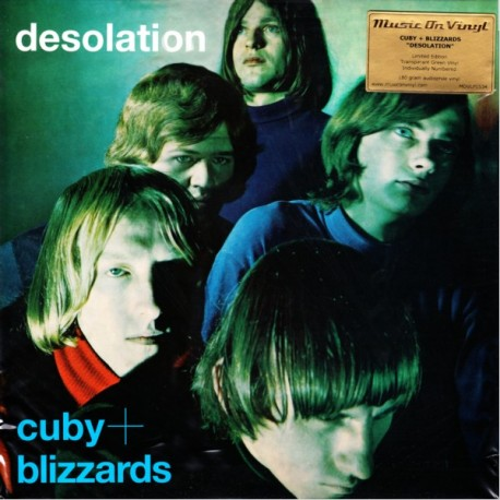 CUBY & THE BLIZZARDS DESOLATION (1LP) - MOV LIMITED NUMBERED EDITION 180 GRAM TRANSPARENT GREEN VINYL PRESSING