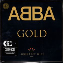 ABBA - GOLD - GREATEST HITS (2 LP) - 40TH ANNIVERSARY EDITION -180 GRAM PRESSING