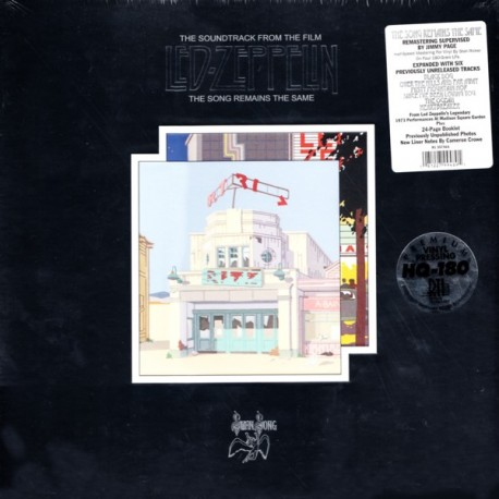 LED ZEPPELIN - THE SONG REMAINS THE SAME (4LP) - 180 GRAM PRESSING - WYDANIE AMERYKAŃSKIE