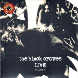 BLACK CROWES, THE - LIVE VOLUME 1. (2LP) - LIMITED EDITION COLOUR VINYL