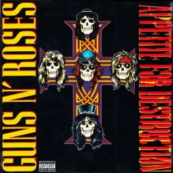 GUNS N' ROSES - APPETITE FOR DESTRUCTION (1 LP) - 180 GRAM PRESSING