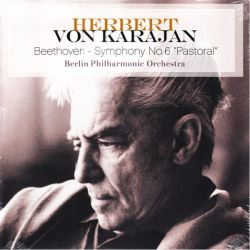 "BEETHOVEN, LUDWIG VAN - SYMPHONY NO.6 ""PASTORAL"" - HERBERT VON KARAJAN - BERLIN PHILHARMONIC ORCHESTRA (1LP)"