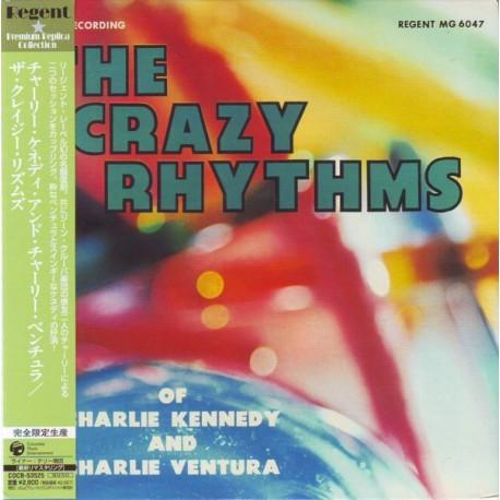 KENNEDY, CHARLIE & CHARLIE VENTURA - THE CRAZY RHYTHMS OF... - WYDANIE JAPOŃSKIE