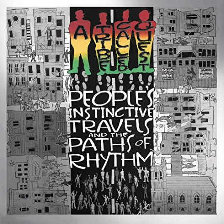 A TRIBE CALLED QUEST - PEOPLES INSTINCTIVE TRAVELS AND THE PATHS OF RYTHM (2LP) - 25H ANNIVERSARY EDITION- 180 GRAM PRESSING