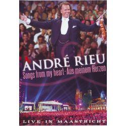 RIEU, ANDRE - LIVE IN MAASTRICHT I: SONGS FROM MY HEART - AUS MEINEM HERZEN (1DVD)