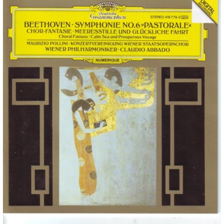BEETHOVEN, LUDWIG VAN - SYMPHONIE NO.6 PASTORALE - CLAUDIO ABBADO