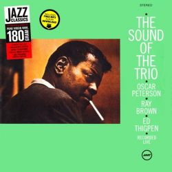 PETERSON, OSCAR - THE SOUND OF THE TRIO (1LP) - 180 GRAM PRESSING