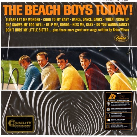 BEACH BOYS, THE - TODAY! (1LP) - LIMITED MONO EDITION - 200GRAM PRESSING - WYDANIE AMERYKAŃSKIE