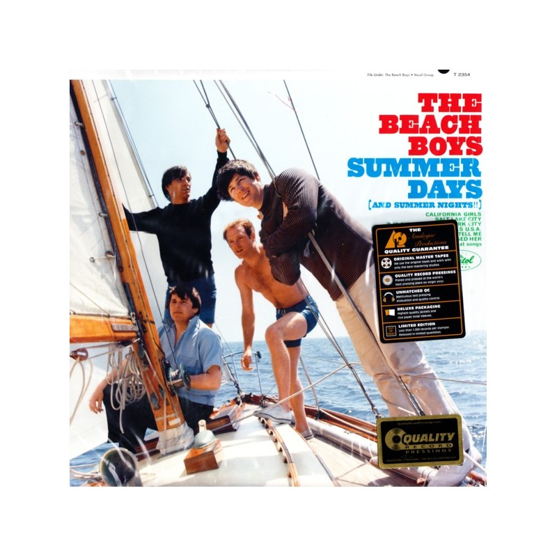 Beach Boys The Summer Days And Summer Nights 1 Lp