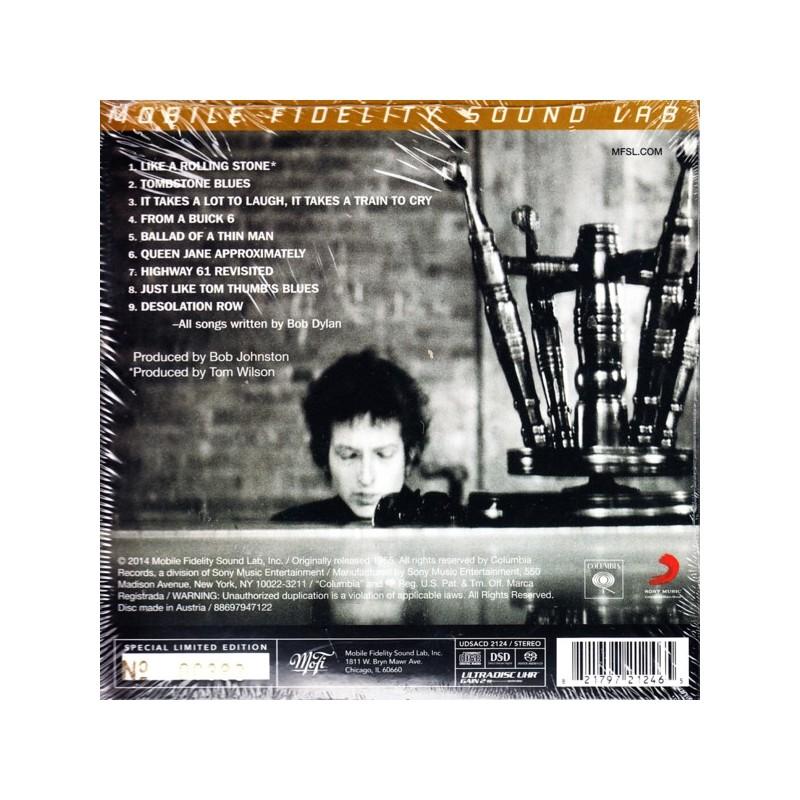 Dylan Bob Highway 61 Revisited 1 Sacd Limited