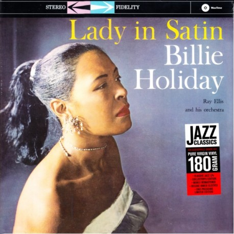 HOLIAY, BILLIE - LADY IN SATIN (1LP) - 180 GRAM PRESSING