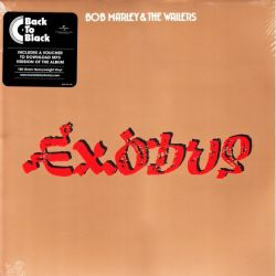 MARLEY, BOB & THE WAILERS - EXODUS (1 LP + MP3 DOWNLOAD) - BACK TO BLACK EDITION - 180 GRAM PRESSING